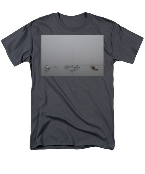 Waiting Out The Fog Men's T-Shirt  (Regular Fit) by David Chandler