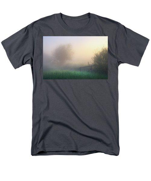 Foggy Morning Men's T-Shirt  (Regular Fit) by Dan Jurak