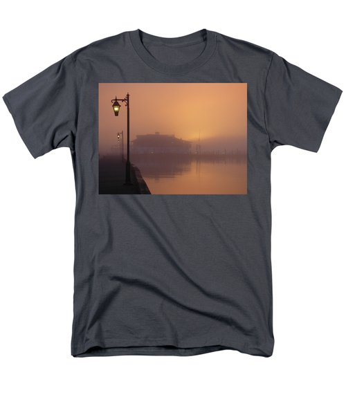 Foggy Sunrise Men's T-Shirt  (Regular Fit) by Robert Henne