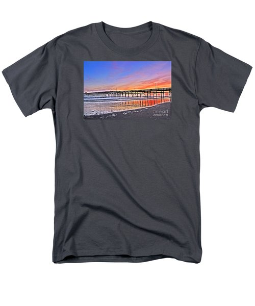 Men's T-Shirt  (Regular Fit) featuring the photograph Foggy Sunset by Shelia Kempf