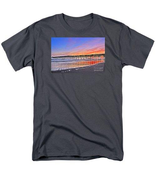 Foggy Sunset Men's T-Shirt  (Regular Fit) by Shelia Kempf