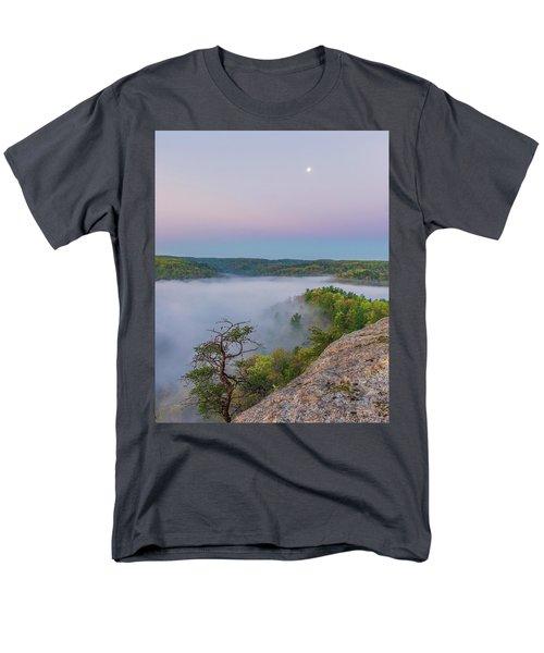 Foggy Valley Men's T-Shirt  (Regular Fit) by Ulrich Burkhalter