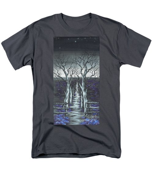 Men's T-Shirt  (Regular Fit) featuring the painting Follow The Stars by Kenneth Clarke