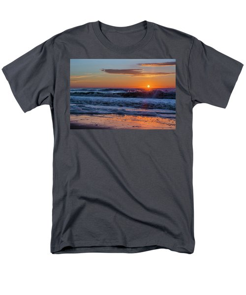 Men's T-Shirt  (Regular Fit) featuring the photograph Folly Beach Sunrise by RC Pics