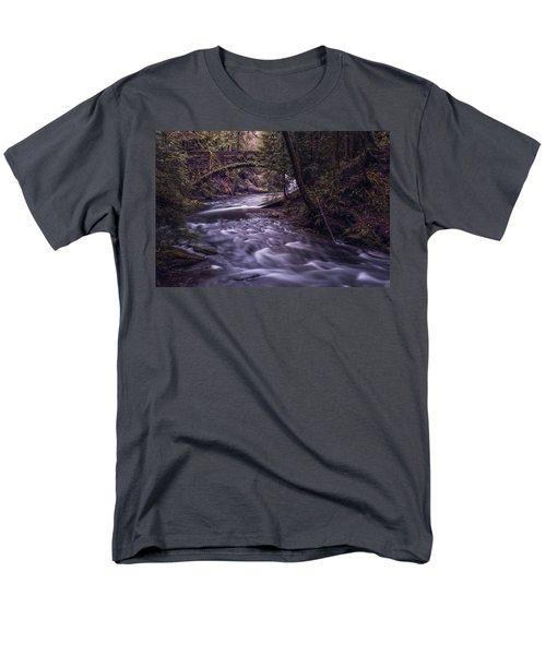 Forrest Bridge Men's T-Shirt  (Regular Fit) by Chris McKenna
