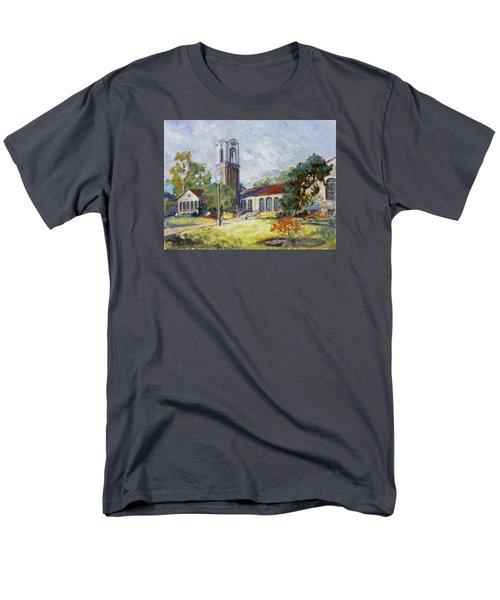 Forest Park Center - St. Louis Men's T-Shirt  (Regular Fit) by Irek Szelag