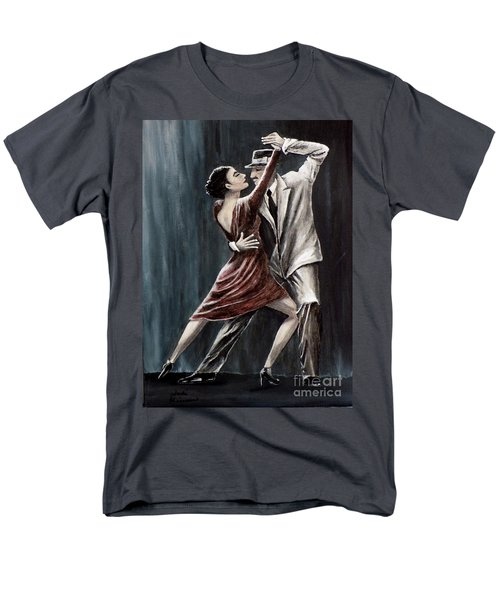 Forever Tango Men's T-Shirt  (Regular Fit) by Judy Kirouac