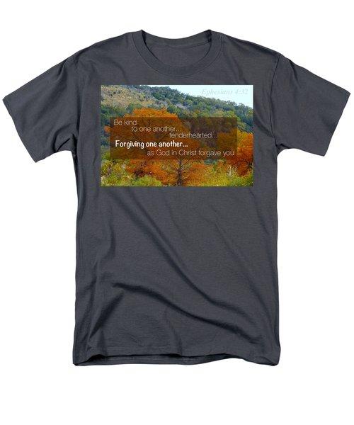 Forgiveness1 Men's T-Shirt  (Regular Fit) by David Norman