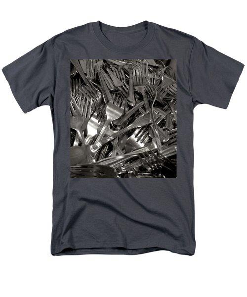 Forks Men's T-Shirt  (Regular Fit) by Henri Irizarri