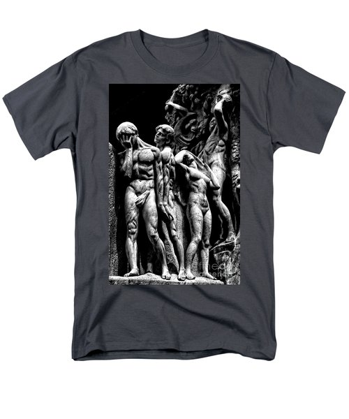 Men's T-Shirt  (Regular Fit) featuring the photograph Forms In Marble by Paul W Faust - Impressions of Light