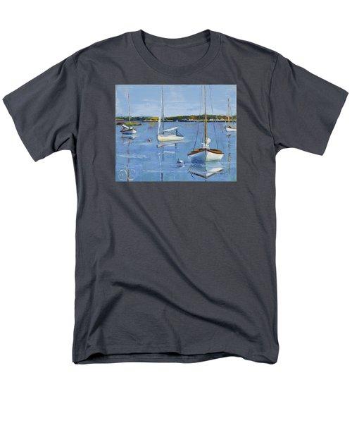 Four Daysailers Men's T-Shirt  (Regular Fit) by Trina Teele