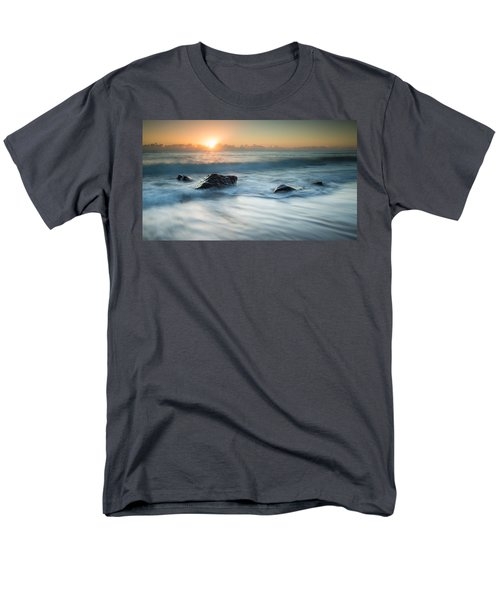 Four Rocks Men's T-Shirt  (Regular Fit) by Brad Grove