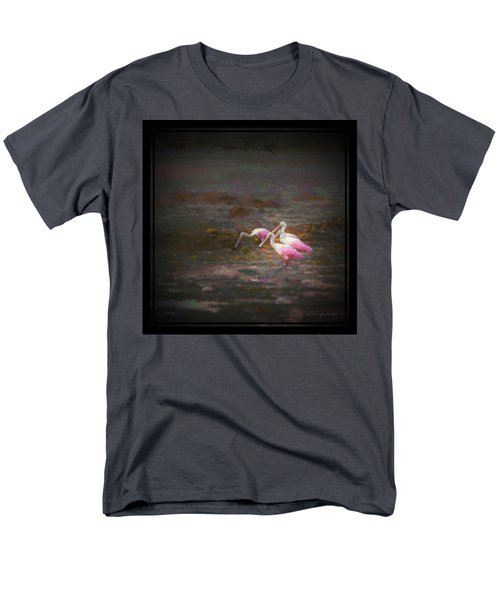 Four Spoons On The Marsh Men's T-Shirt  (Regular Fit) by Marvin Spates