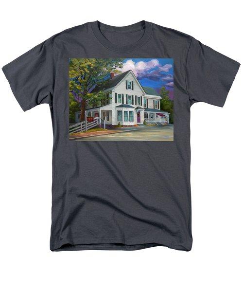 Fournier Funeral Home Men's T-Shirt  (Regular Fit) by Nancy Griswold