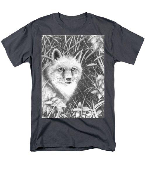 Fox Men's T-Shirt  (Regular Fit) by Lawrence Tripoli