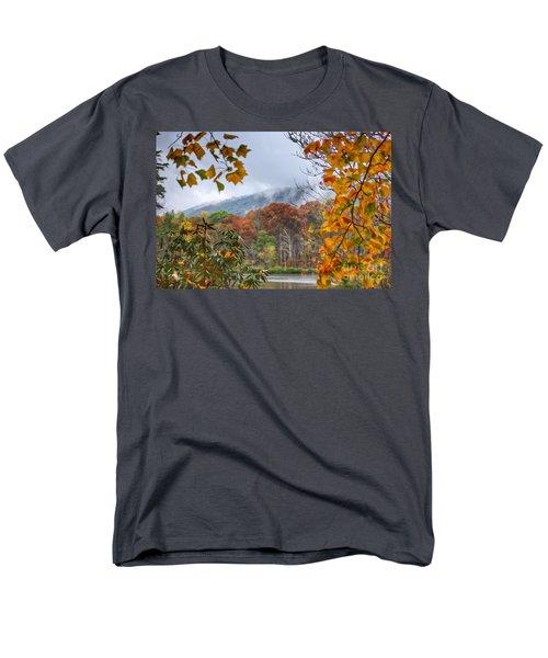 Framed By Fall Men's T-Shirt  (Regular Fit) by Kerri Farley