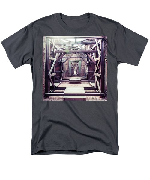 Men's T-Shirt  (Regular Fit) featuring the photograph Framework by Joseph Westrupp