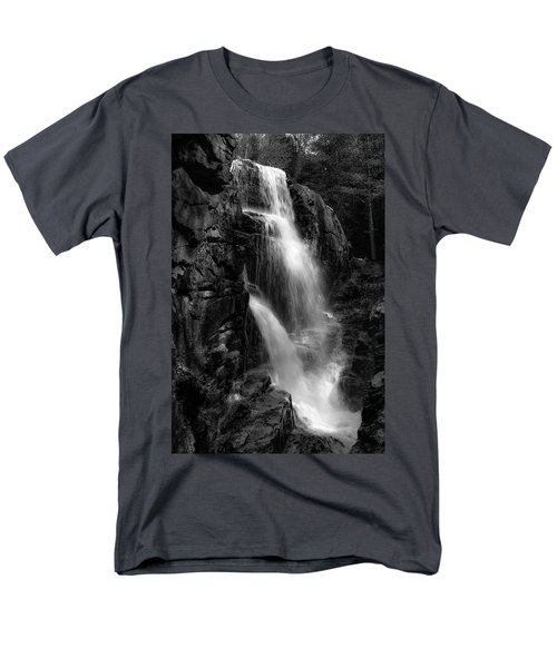 Franconia Notch Waterfall Men's T-Shirt  (Regular Fit) by Jason Moynihan