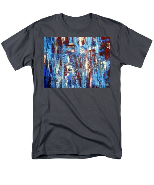 Freedom Of Expression Men's T-Shirt  (Regular Fit) by Valerie Travers