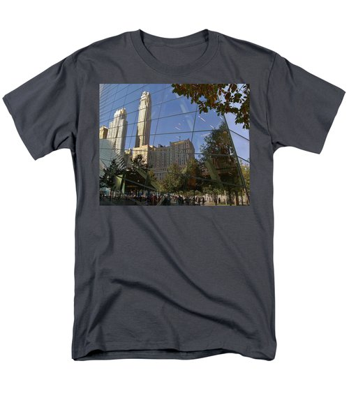 Ground Zero Reflection Men's T-Shirt  (Regular Fit)