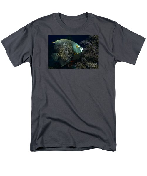 Men's T-Shirt  (Regular Fit) featuring the photograph French Angel by Aaron Whittemore