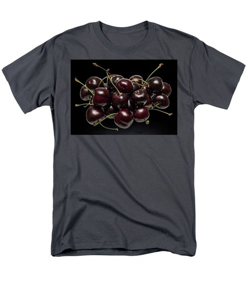 Fresh Cherries Men's T-Shirt  (Regular Fit) by David French