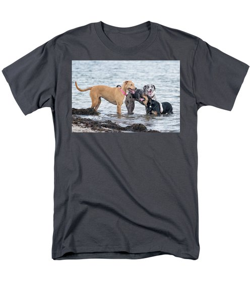 Friends Men's T-Shirt  (Regular Fit) by Stephanie Hayes