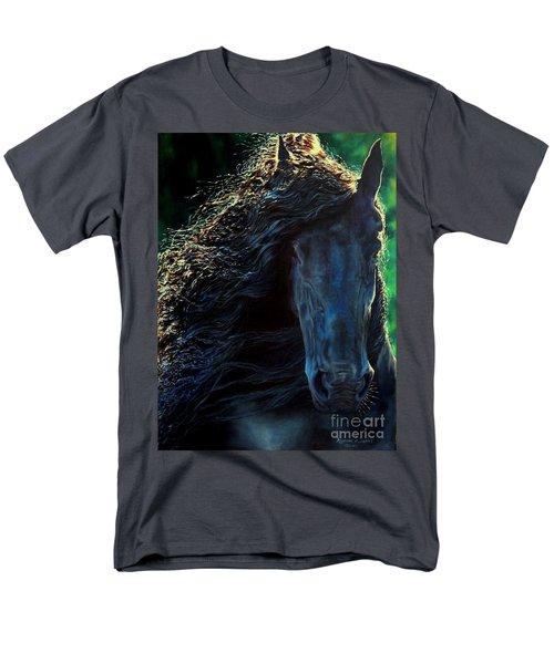 Friesian Glimmer Men's T-Shirt  (Regular Fit) by Ruanna Sion Shadd a'Dann'l Yoder