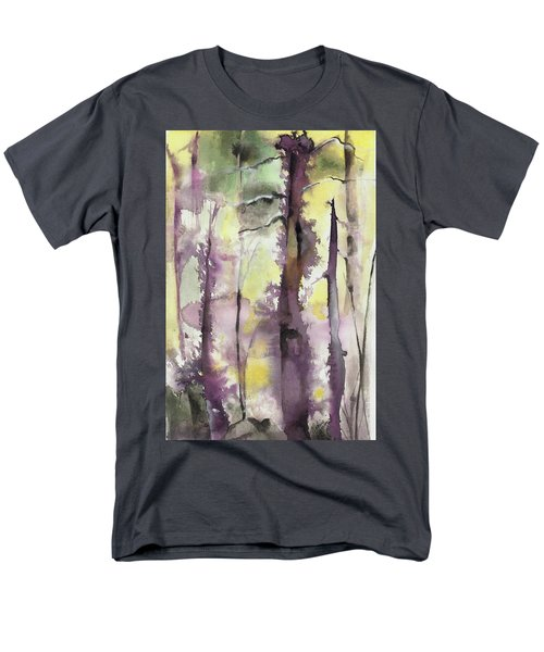Men's T-Shirt  (Regular Fit) featuring the painting From The Fire by Nadine Dennis