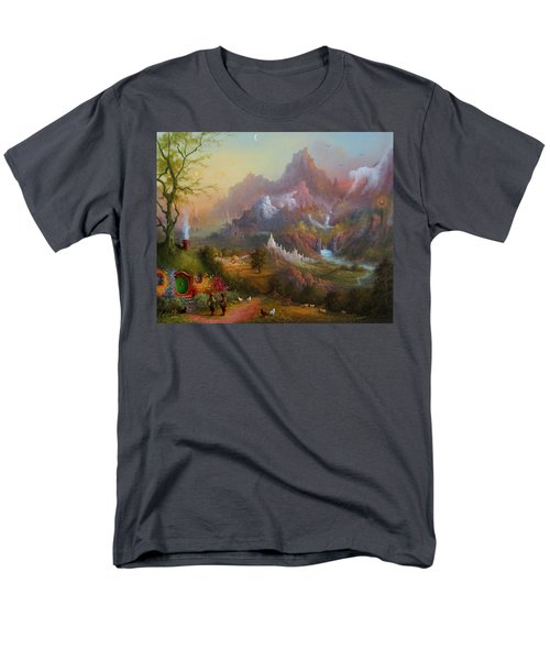 From The Shire To The Sea Men's T-Shirt  (Regular Fit) by Joe  Gilronan