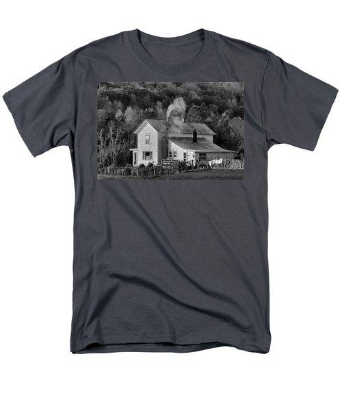 Frosty Morning Men's T-Shirt  (Regular Fit) by Denise Romano