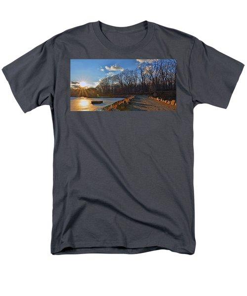 Frozen Sunset Men's T-Shirt  (Regular Fit) by Jeffrey Friedkin