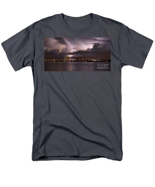 Ft Myers Nights Men's T-Shirt  (Regular Fit) by Quinn Sedam