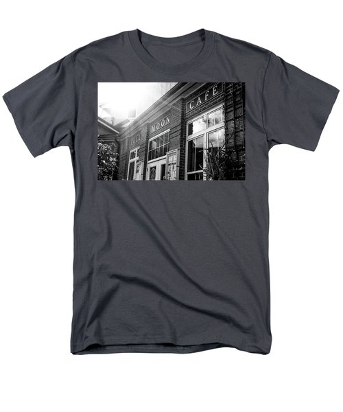 Men's T-Shirt  (Regular Fit) featuring the photograph Full Moon Cafe by David Sutton