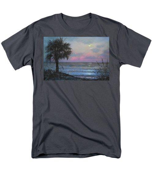 Full Moon Rising Men's T-Shirt  (Regular Fit) by Blue Sky