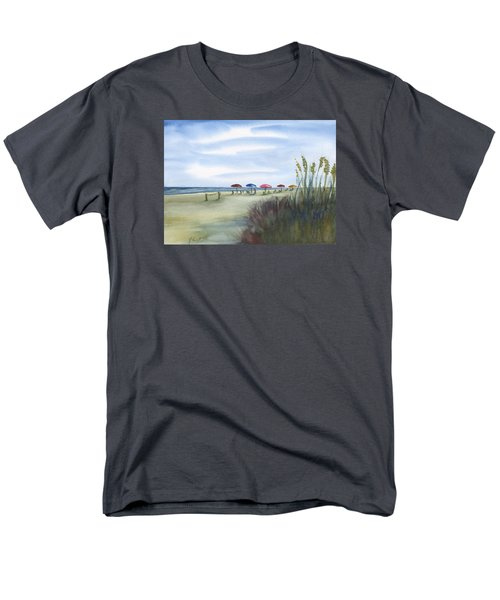 Fun At Folly Field Beach Men's T-Shirt  (Regular Fit) by Frank Bright