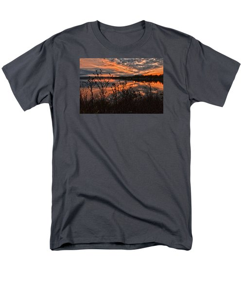 Men's T-Shirt  (Regular Fit) featuring the photograph Gainesville Sunset 2386w by Ricardo J Ruiz de Porras