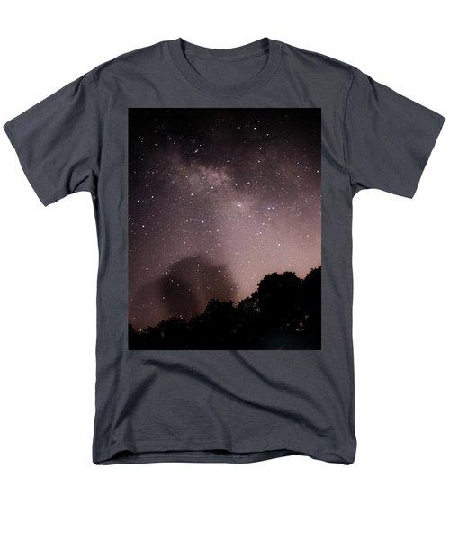 Galaxy Beams Me Men's T-Shirt  (Regular Fit) by Carolina Liechtenstein