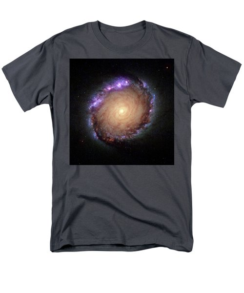 Galaxy Ngc 1512 Men's T-Shirt  (Regular Fit) by Hubble Space Telescope