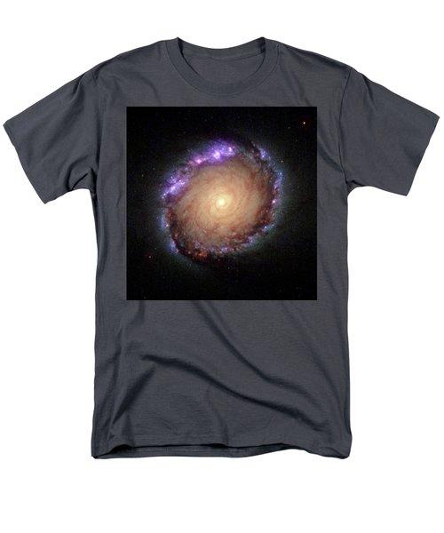 Galaxy Ngc 1512 Men's T-Shirt  (Regular Fit)