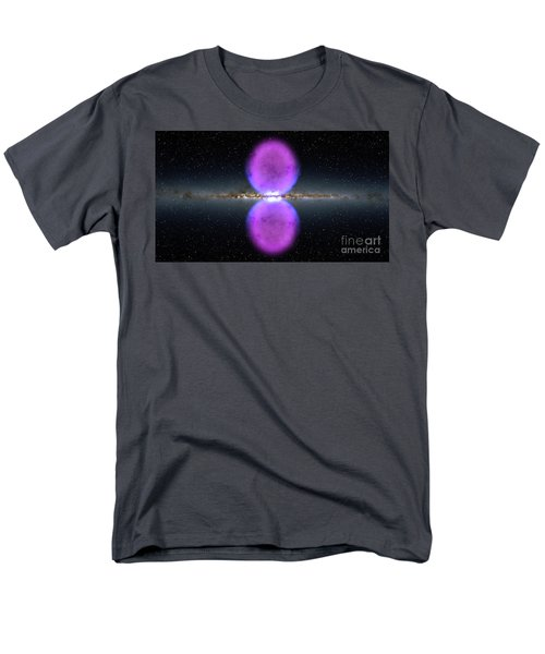 Gamma Ray Bubbles Men's T-Shirt  (Regular Fit) by Rod Jellison
