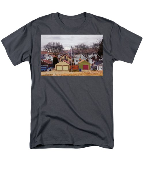 Garages Men's T-Shirt  (Regular Fit) by David Blank