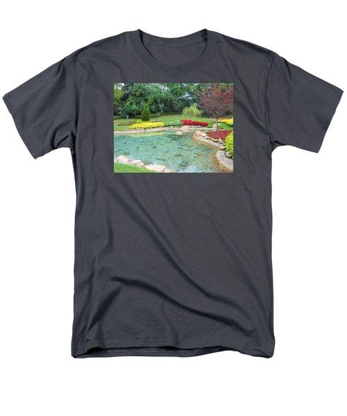 Garden At Epcot Men's T-Shirt  (Regular Fit) by Kay Gilley