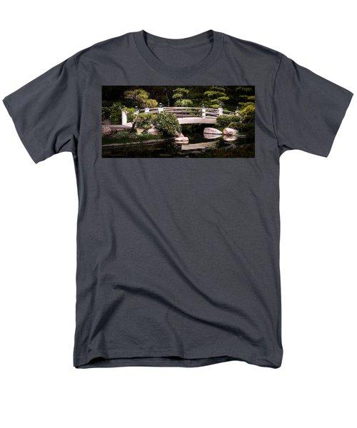 Garden Bridge Men's T-Shirt  (Regular Fit) by Ed Clark