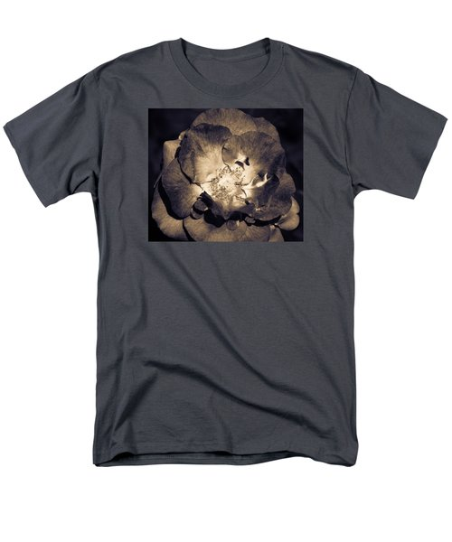 Men's T-Shirt  (Regular Fit) featuring the photograph Garden Goodbye by Cathy Donohoue