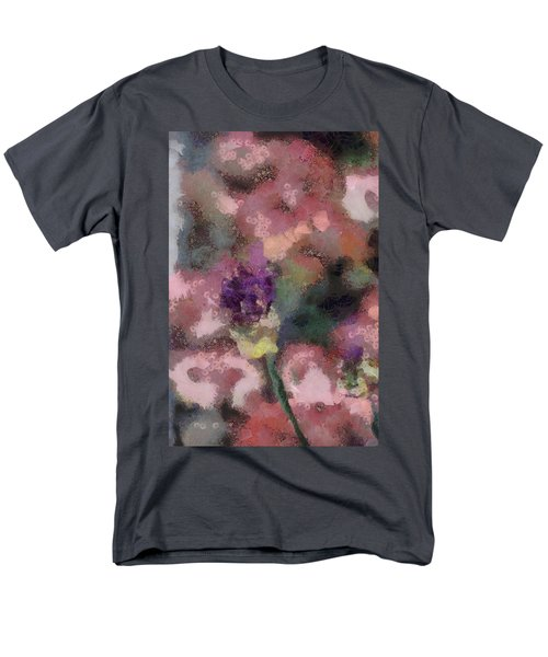 Men's T-Shirt  (Regular Fit) featuring the mixed media Garden Of Love by Trish Tritz