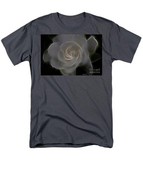 Gardenia Blossom Men's T-Shirt  (Regular Fit) by Deborah Benoit