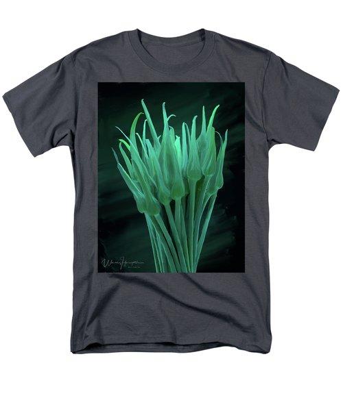Garlic Scapes 01 Men's T-Shirt  (Regular Fit) by Wally Hampton
