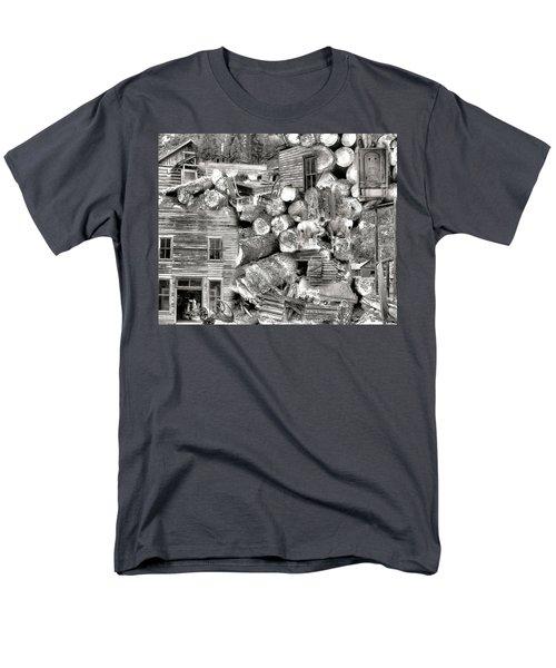 Garnet Montana Men's T-Shirt  (Regular Fit) by Susan Kinney