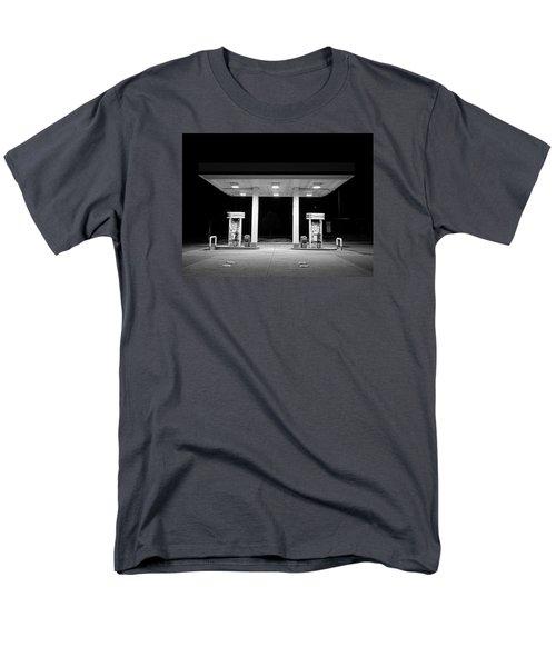 Gas At Night Men's T-Shirt  (Regular Fit) by John Rossman